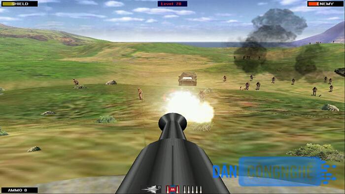chơi game Beach Head 2002