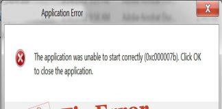 cách sửa lỗi the application was unable to start correctly 0xc00007b