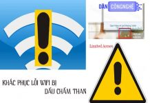 lỗi no internet access