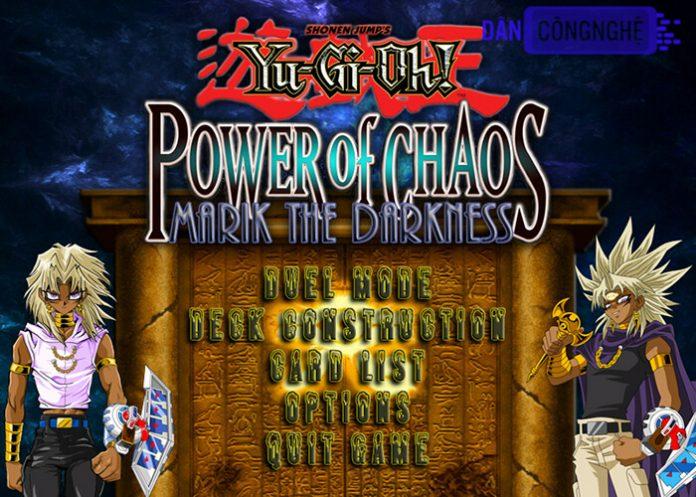 tải yugioh power of chaos