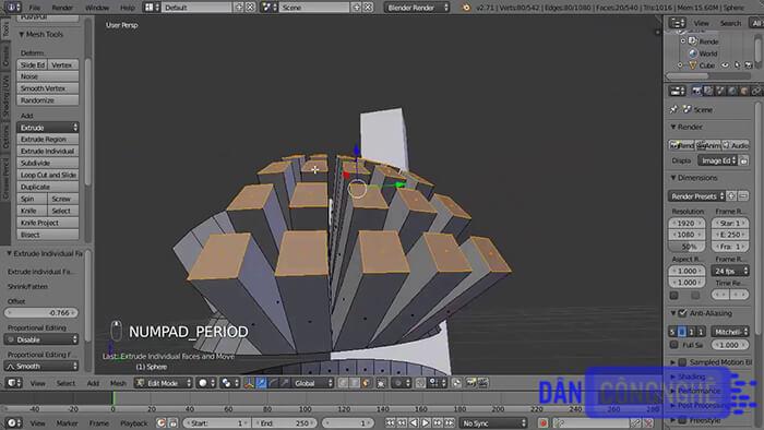 Blender là 1 trong những phần mềm chỉnh sửa video 3D