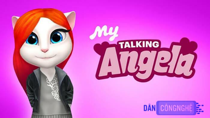 chú méo đáng yêu My Talking Angela