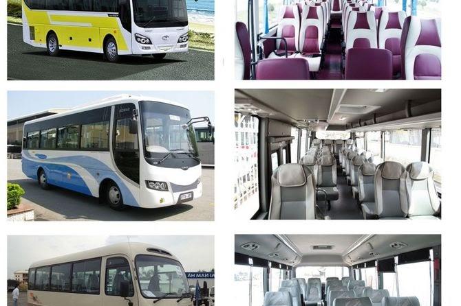 Chất lượng xe dịch vụ 29 chỗ tốt nhất